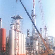 Elcor Refinery Construction