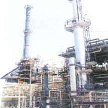 Shell Brunei Refinery Construction