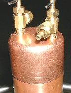 Reflux Cap and Valves
